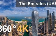 360°, The Emirates (UAE). 4K aerial video