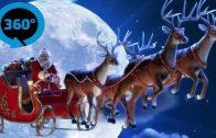 Santa Sleigh Ride VR 360° Video [Google Cardboard] Virtual Reality Videos 360°