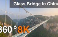 Zhangjiajie Glass Bridge, China. 360 aerial video in 8K