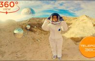 360 VR Video | Katerina on Mars. The first contact with the Martians. 360 video VR space experience.