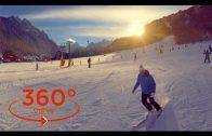 360 VR VIDEO – Kranjska Gora (Skiing in Slovenian Alps) vr 360 degree travel video