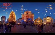 360 VR VIDEO TRAVEL – Christmas in Ljubljana, Slovenia (vr 360 video for oculus rift, gear vr).