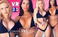 2 GIRLS DISTRACT ME FROM WORK! – VR POV 3D – BIKINI/LINGERIE VIRTUAL REALITY IN 4K 360/180