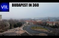 Budapest in Winter in 360 2160p 4k Ultra HD