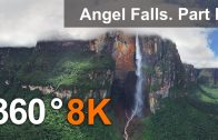 360°, Angel Falls, Venezuela. Part I. Aerial 8K video