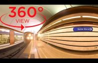360 VR VIDEO TRAVEL – St. Petersburg Metro, the deepest subway in the world (vr 360 degree video)