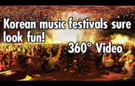 360º Experience in a Crowded Korean Music Festival
