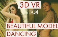3D VR 180 Bikini Model Dancing #psvr #vive #oculus go #gearVR
