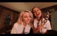 Naughty Dorm Party Threesome with college girls Vanna Bardot & Lola Fae bondage pov BDSM #VRporn sex
