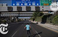 Skating Through Tel Aviv's Empty Highways on Yom Kippur | The Daily 360