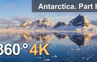 360°, Antarctica. Part I. 4K aerial video