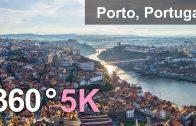 360°, Porto, Portugal. 5,6K aerial video
