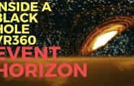 4K   Inside a BLACK HOLE [EVENT HORIZON] Best 360 Experience