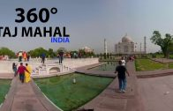 [4k] Taj Mahal in 360 degree virtual reality II Part 1- Experience india without travelling