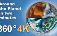 Around the Planet in 2 minutes. VR 360 video in 4K by AirPano