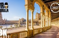 Cadiz & Sevilla Spain Guided Tour (8K 360 VR Video)