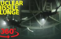 Fearless scuba divers explore abandoned nuclear missile silo in VR