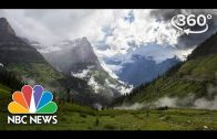 Glacier National Park's Going-To-The-Sun Road | 360 Video | NBC News