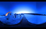 Searching Alaska for the Northern Lights in 360 video