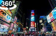 VR 360 Times Square, NYC, the world's most visited tourist attraction, VR 360 video
